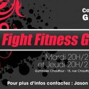 bannière impact boxe fitness